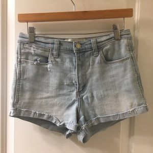 Abercrombie and Fitch High Rise Jean Denim Short